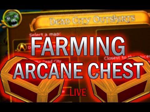 TastyGoblin   Farming Arcane Weapon Chest! #2