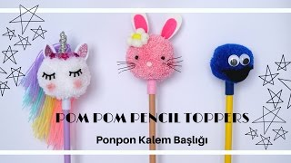 DIY Unicorn Kalem /Pencil !🦄