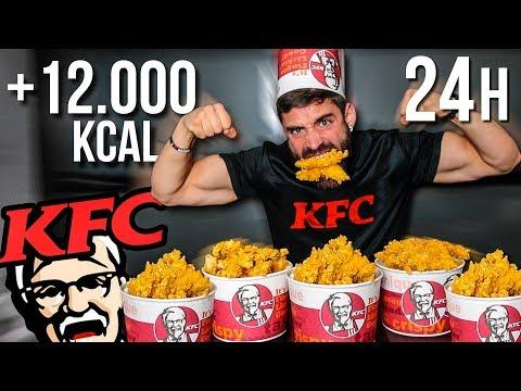 Xxx Mp4 24 HORAS COMIENDO SOLO KFC 12 000 KCAL EN KFC 3gp Sex
