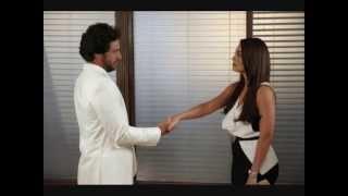 Nina (Juliana Paes) e Herculano (Rodrigo Lombardi) O Astro - 2011.
