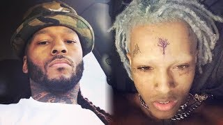 Montana Of 300 DISSES xxxTentacion for new look and shaved eyebrows