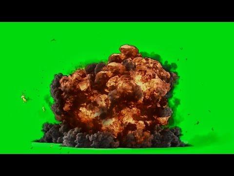 Best Explosion - Green Screen HD 1080p ( Download Link )