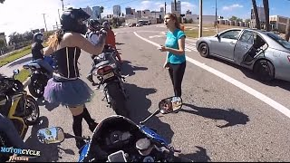 ROAD RAGE | ANGRY PEOPLE vs. BIKERS 2017 COMPILATION  + POLICE PULLOVER