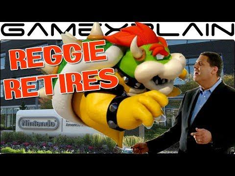 Reggie Retires as NOA President; Bowser Takes Over (Not that one! Doug Bowser)