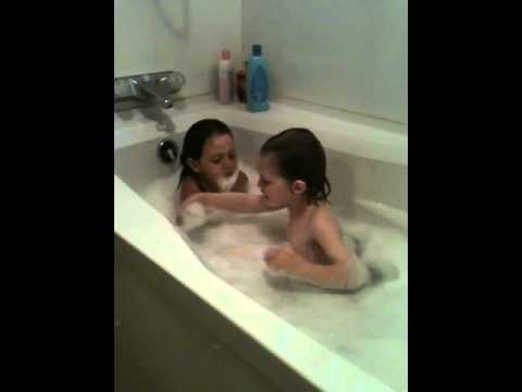 Bath time bubble beards