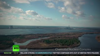Chernobyl drone video: Rare haunting footage of Pripyat exclusion zone
