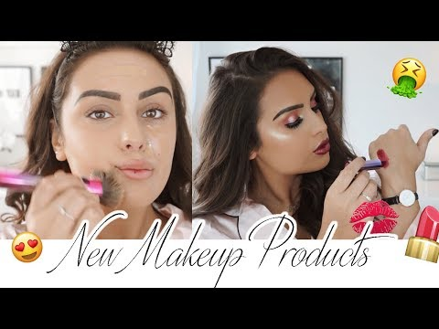 TESTING OUT NEW MAKEUP PRODUCTS 2018
