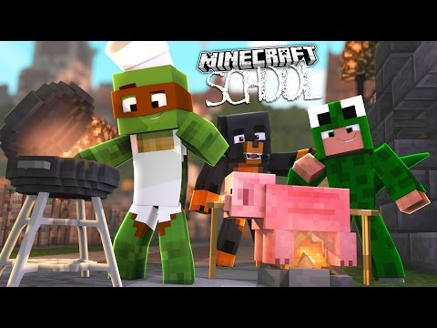 Minecraft SCHOOL LITTLE LIZARD TELLS OF HIS SECRET LOVE donut the dog minecraft roleplay