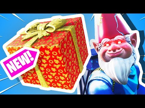 Fortnite CHRISTMAS ONLY Challenge Fortnite Presents