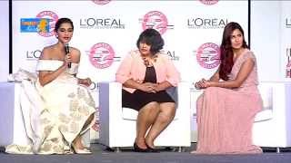 Katrina Kaif Ignores Journalist's Question @ L'Oreal Paris's New Cannes Collection P3