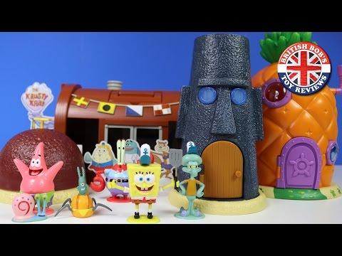Xxx Mp4 Spongebob Squarepants Pineapple House Bikini Bottom Krusty Krab Playset British Bobs Toy Reviews 3gp Sex