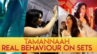Tamannaah real behaviour on sets || Tamanna ll IndiaGlitz Telugu ll IndiaGlitz