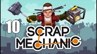 Raketový Spinner a Katapult - Scrap Mechanic - díl 10 - Nakashi