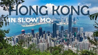 HONG KONG in Slow Motion - Travel Vacation Video (Sony RX100)