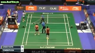 Singapore Open 2016 * R32 * XD * Tontowi Ahmad/Liliyana Natsir Keigo Sonoda/Naoko Fukuman