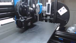 Super High Speed 3d print 40mm Calibration cube Attempt #2