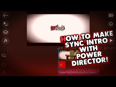 Xxx Mp4 How To Make A Cool Sync Intro Using PowerDirector 3gp Sex