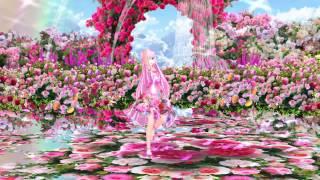 MMD Tda Luka 零れ桜 Rose Garden