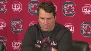 Will Muschamp On Chattanooga Win, Injury Report And Facing Clemson