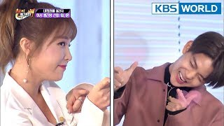 Hong Jin Young vs. Bae Jin Young : Aegyo Battle♥ [Happy Together/2018.01.18]