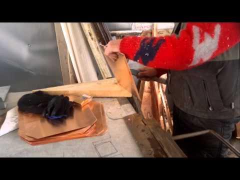 Как сделать деревянную кровлю чешуйками