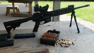 Bobs 223 bulk bullets 55gr fmj sub moa accuracy test