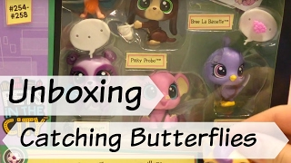 Lps Toy Unboxing: Pets In The City  Catching Butterflies