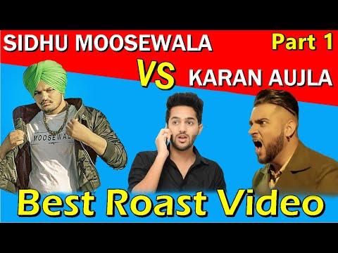 Xxx Mp4 SIDHU MOOSEWALA Vs KARAN AUJLA Fight Latest Punjabi Songs Roast Video Prince Dhimann 3gp Sex