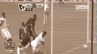 أهداف مباراة سوانزي سيتي 1 4 مانشستر يونايتد [7-8-2013] عصام الشوالي