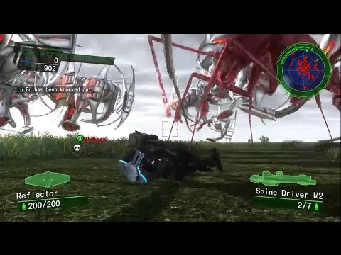 My friend and I got ass raped by Aliens in Earth Defense Force 4.1: The Shadow of New Despair