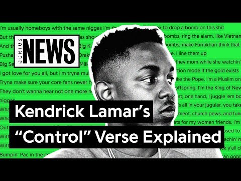 "Looking Back At Kendrick Lamar's ""Control"" Verse 