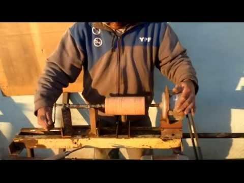 como hacer un torno para madera5 5