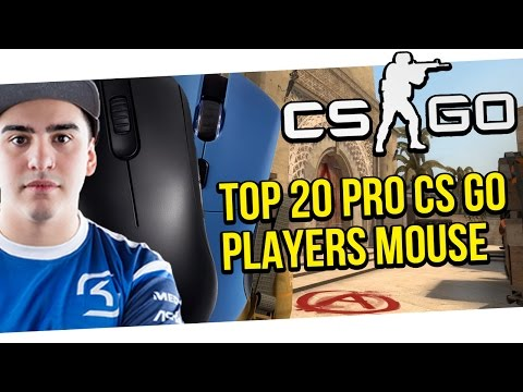 TOP 20 PRO CS GO PLAYERS MOUSE | SICK PLAYS MONTAGE