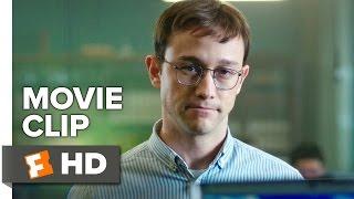 Snowden Movie CLIP - Aptitude Test (2016) - Joseph Gordon-Levitt Movie