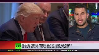 US places Iran's Revolutionary Guard under sanctions