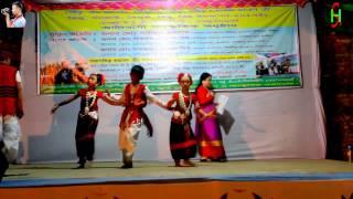 Stage show Boishakhi pahari bijhu dance.