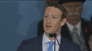 Mark Zuckerberg gives Harvard commencement address