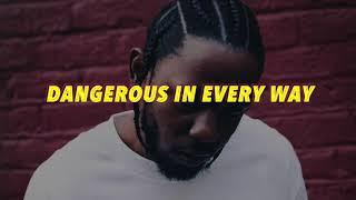 Kendrick Lamar type beat - Dangerous In Every Way Freestyle - WMS The Sultan