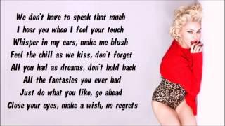 Madonna - Best Night Karaoke / Instrumental with lyrics on screen