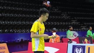 2014 Thomas Cup - Group C: Malaysia - Chong Wei Feng vs India - Kashyap Parupalli