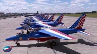 25 Juin - Vol de la Patrouille de France au Salon du Bourget 2017