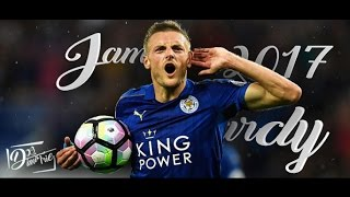 Jamie Vardy 2016/17 - Goals and Skills | Record breaker | Leicester City