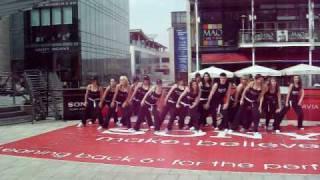 Sony Bravia Lean Back Dance Crew Dundrum