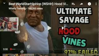 Reacting to WorldStarHipHop most Savage Hood Vines