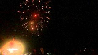 Fireworks in Slowmo
