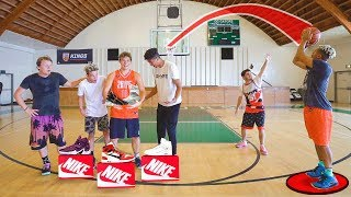 CRAZY 1 vs 1 Basketball for EPIC PRIZES! 5+ Pairs of Shoes!!