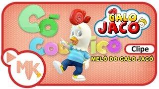 Galo Jacó - MELÔ DO GALO JACÓ- Clipe Oficial 3D em HD - Infantil
