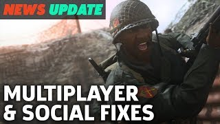 Call Of Duty WW2: Big Changes After Launch Issues Announced - GS News Update