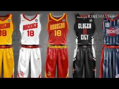 NEW NIKE NBA Jerseys For The 2017-2018 Season