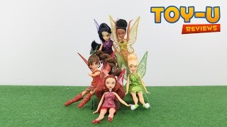 DISNEY TinkerBell and the Legend of the NeverBeast - Disney Fairies Unboxing and Review Video TOY-U